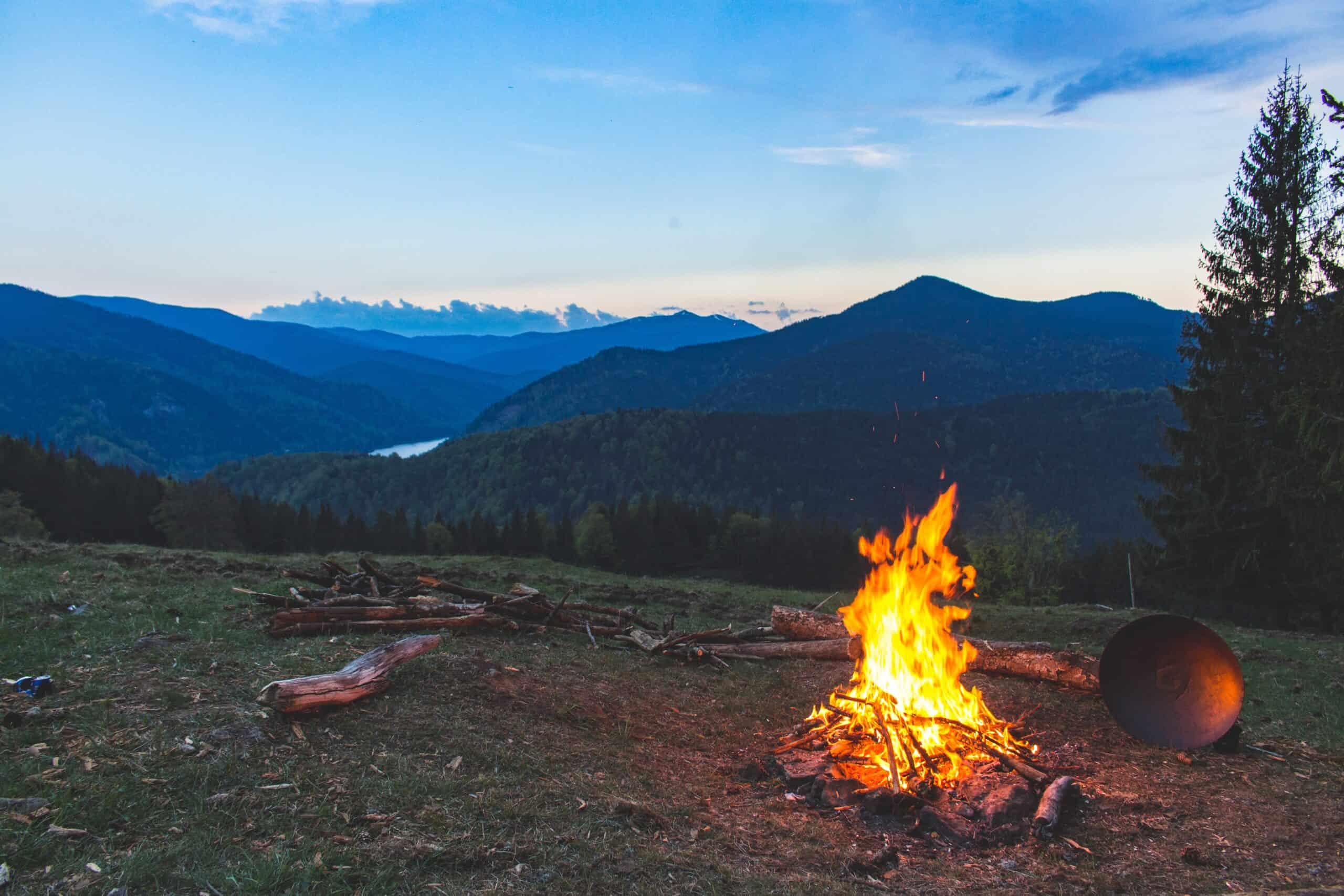 Photo of a campfire - pexels-vlad-bagacian-1061640